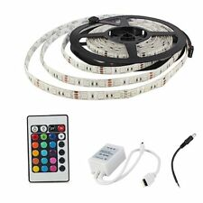 BT1 5 m 5050 7 colour 300 waterproof LED RGB light stripe 24 remote controller