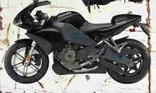 Buell 1125R 2008l Aged Vintage SIGN A4 Retro