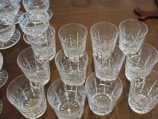 """WATERFORD KYLEMORE 12 OLD FASHIONED GLASSES 3 5/8"""" X 3 1/4"""""""