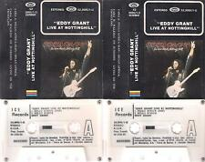 EDDY GRANT Live at  Nottinghill   DIFFICULT  SPANISH   CASSETTE  DOUBLE SPAIN