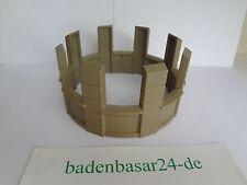 Playmobil Ritterburg, Castle, Fachwerkhaus, Aufsatz Zinnen für Rundturm, Klicky