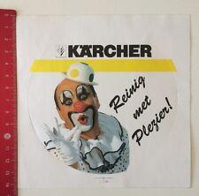 Aufkleber/Sticker: Kärcher - Reinig Met Plezier (22051615)