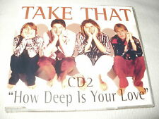 TAKE THAT - HOW DEEP IS YOUR LOVE - UK CD SINGLE - PART 2
