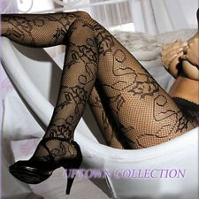 Black Fishnet Spiderweb Halloween Witch Costume Pantyhose Burlesque Stockings