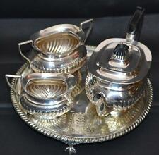 Vintage Atkin Brothers of Sheffield 4 Piece EPNS Silver Plated Tea Set  [PL2478]