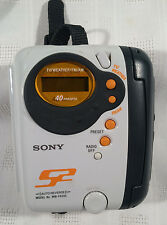 Sony S2 Walkman WM-FS555 TV/AM/FM/Weather Tape Cassette Player - TESTED - Works!