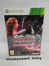 "TEKKEN TAG TOURNAMENT 2 ""WE ARE TEKKEN EDITION"" LIMITED EDITION XBOX 360 - NEW"