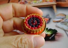 1 dolls house miniatures food cake fruit maison de poupée Dolls house fimo^