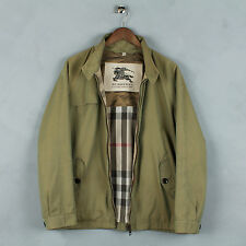 BURBERRY BRIT LONDON PRORSUM NOVA CHECK TRANSFUSE JACKET BOMBER HARRINGTON SZ XL