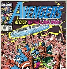The AVENGERS #305 with Captain America & Thor from July 1989 in VF- con. NS