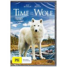 DVD TIME OF THE WOLF Burt Reynolds Jason Priestly 2002 Family Wolves R4 [BNS]