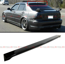 VIP GLOSSY BLK JDM REAR ROOF WINDOW SPORT SPOILER WING FOR 2001-2005 LEXUS IS300