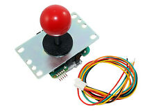Sanwa Joystick 8-way with Red Ball Top (JLF-TP-8YT)