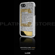 New iPhone SE 5S Swarovski Crystal Bling Case Lucien Crystalline Initials Cover
