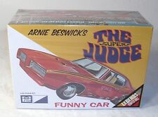 MPC ARNIE BESWICK'S THE SUPER JUDGE FUNNY CAR MODEL KIT SEALED