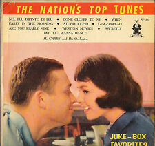 "DIVERS ""THE NATION'S TOP TUNES"" ROCK N' ROLL DOO WOP 50'S LP PARADE SP 202"