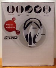 Global GeoSonic Digital Pioneer 006 Wireless Headphones Transmitter Reciever-107