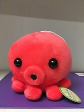 "6"" Cute Octopus Plush Red"