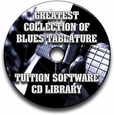 67 Blues Guitar schede tablature SONG BOOK Library Software CD Collection