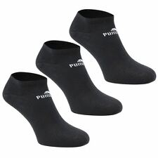 Puma 3 Pack Trainer Ankle Socks  Adults Mens size 9-11