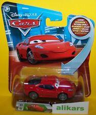 FERRARI F430 Giocattolo Occhi Mattel Cars 1:55 Disney Modellini Metallo Diecast