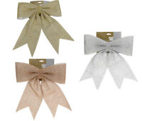 Giant Christmas Gift Bow with Sequins Christmas Decoration Wedding Decorations