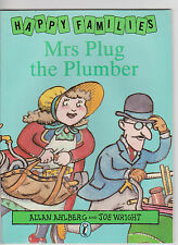 Allan Ahlberg Happy Families Mrs Plug the Plumber  Picture Puffin Book