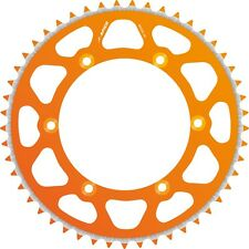 APICO REAR SPROCKET EVOLITE KTM/HUSA/HUSKY SX/EXC 125-620 90-16, 50T ORANGE (R)