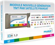 Module PCMCIA FRANSAT + Carte VIACCESS FRANSAT CAM CI+ TV Téléviseur HD