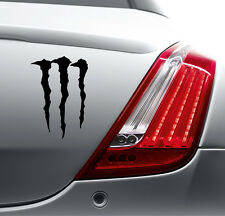 FUNNY MONSTER STICKER Car Bumper Van Window Laptop JDM VINYL DECALS STICKERS