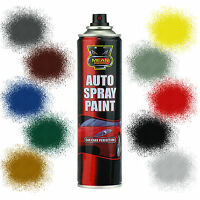 x3 Car Spray Paint Aerosol Auto Primer Matt Gloss Satin Clear Lacquer 200-300ml