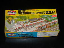 MAQUETTE - TRAIN - WINDMILL (POST MILL)-  AIRFIX - 00 - HO - MODEL KIT- COMPLETE