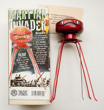 "Schylling Martian Invader Robot, Windup 9"" Tin Toy Wind Up, NIB"