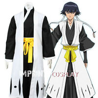Bleach 2nd Division Squad 2 Team 2 Captain Cosplay Costume Full Set FREE P&P