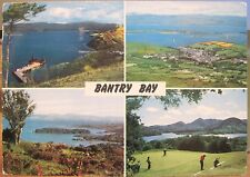 Irish Postcard BANTRY BAY Multiview West Cork Ireland Golf Views John Hinde 1978