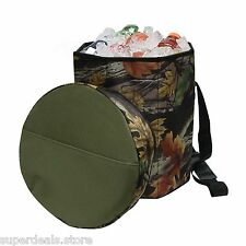 Camo Padded Cooler Seat Chair perfect for Outdoor Activities - AP7425