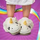 2016 New! Women Unicorn Totoro Plush Indoor Comfortable Casual Slippers Shoes LG