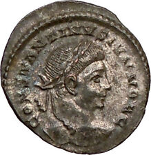 Constantine Ii Constantine the Great sonLondon Ancient Roman Coin Wreath i20971