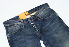 Nuevo-Hugo Boss Orange 24 Milano-w33 l34-vintage Denim Jeans regular 33/34