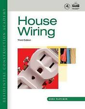 Residential Construction Academy: House Wiring, Fletcher, Gregory, Very Good con