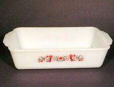 Vintage Fire-King PRIMROSE Pattern Baking Dish/Loaf Pan