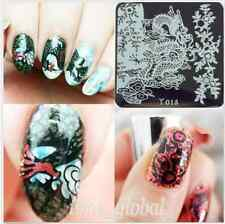 Nagel Stempel Schablone Nail Art Stamp Template Image Stamping Plate Y015