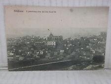 Vecchia cartolina foto d epoca di SICULIANA PANORAMA VISTO DAL NORD EST CASE