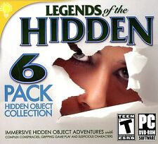 Legends Of The Hidden object PC Games Windows 10 8 7 Vista XP Computer seek find