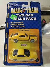 Road & Track Two Car Value Pack 70 Boss Mustang & 99 Mustang!