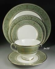 ROYAL DOULTON ENGLISH RENAISSANCE 5 PIECE PLACE SETTINGS - PERFECT