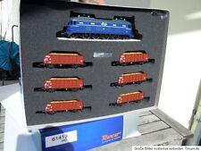 ROCO 61413 Zugset Rübenzug mit E-Lok 1000 blau der NS Ep.4, DSS neu in OVP