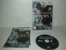 MEDAL OF HONOR HEROES 2 - Nintendo --- WII -  Complet