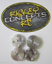 Kyosho USA 1 Aluminum Wheel Adapters Hubs Double Dare Tamiya Vintage Made in USA
