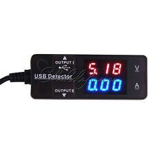 LED Digital USB Charger Doctor Voltage Current Meter Tester Power Detector AU